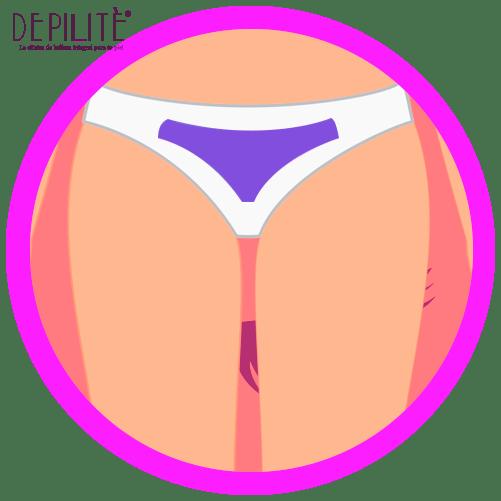 depilación láser en bikini mujer