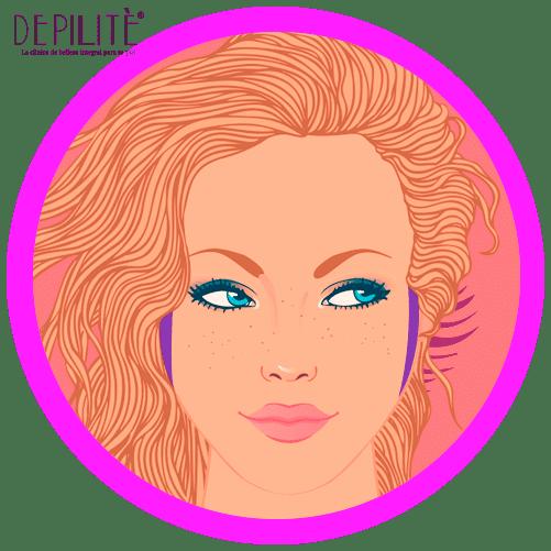depilación láser en patillas mujer